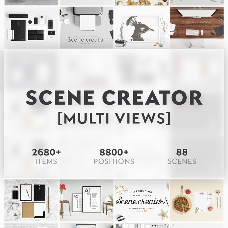 Scene Creator Bundle Product Mockup