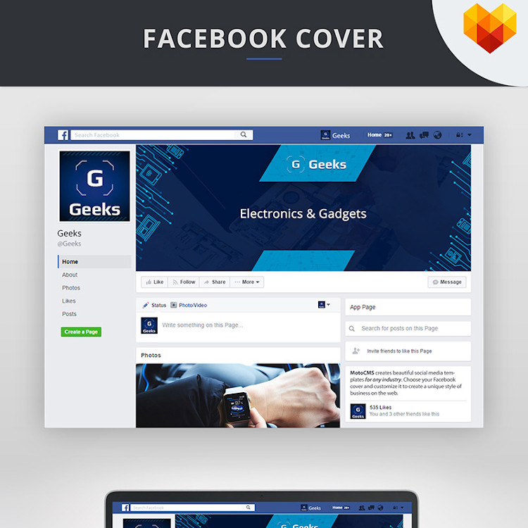Electronics Cover Photo For Facebook Timeline