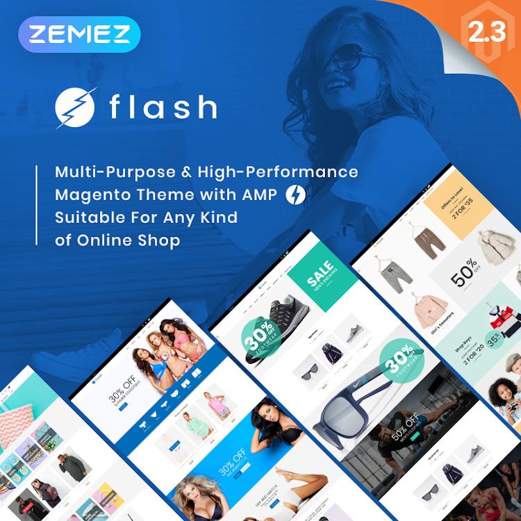 Flash - Multipurpose Magento Theme