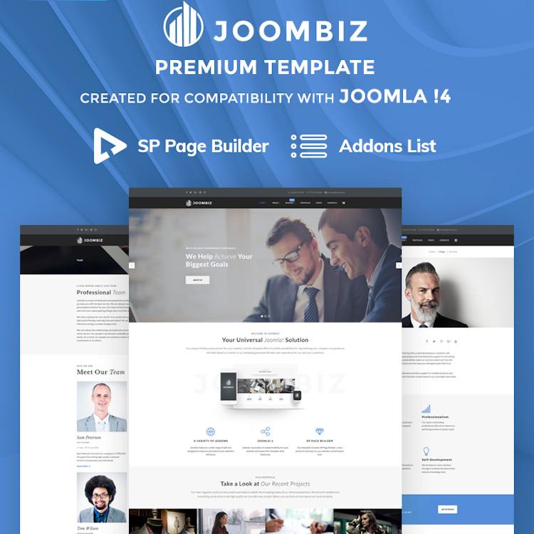 JoomBiz - Joomla 4 Business Theme