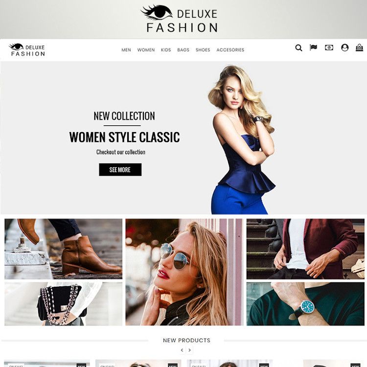 Fashion Deluxe Prestashop 1.7 PrestaShop Theme