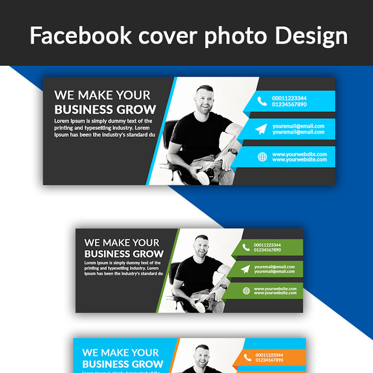 Facebook and Instagram cover photo design