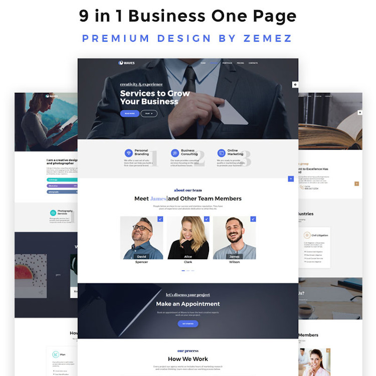 Business HTML5 Website Template