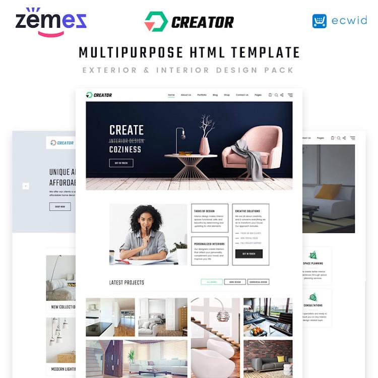 Creator HTML5 Template