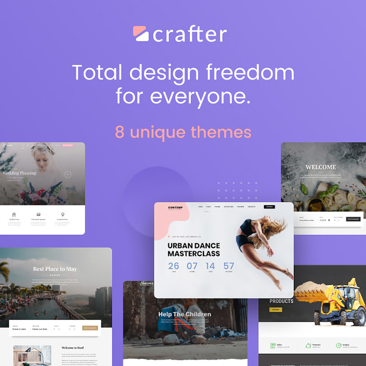 Crafter HTML5 template