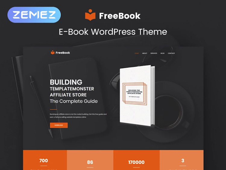FreeBook WordPress theme