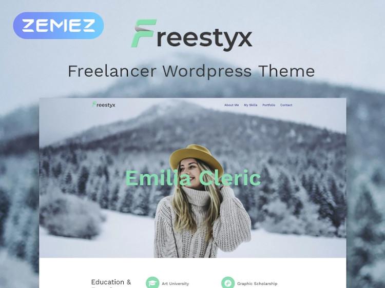 Freestyx WordPress theme