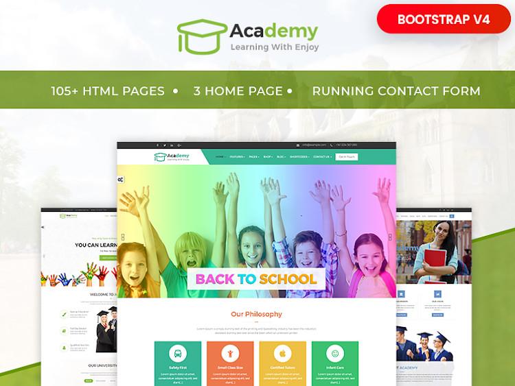 Academy HTML5 Template