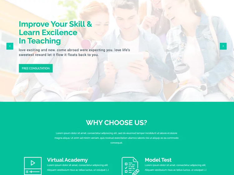 LMS Education HTML5 Template