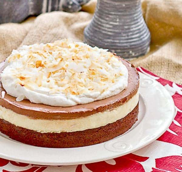 Coconut Brownie Cake   An exquisite layered dessert for coconut lovers!
