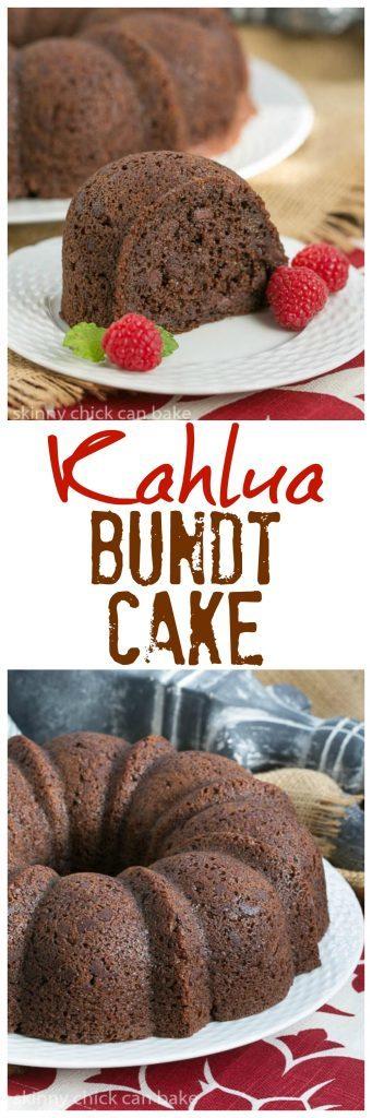 Kahlua Bundt Cake That Skinny Chick Can Bake