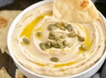 Creamy Hummus from Scratch - That Skinny Chick Can Bake