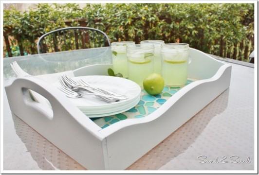 Seaglass Tray