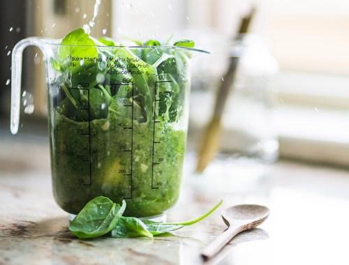 gruener-smoothie Zutaten