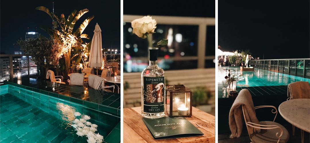 Hot Gin Tonic Rooftop Bar
