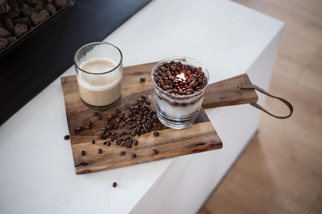 Kaffee Kerze DIY