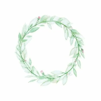 Flower Wreath - Wall stories from ThatsMine