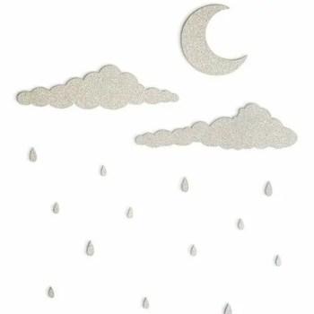 Rainy days wall deco - ThatsMine