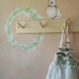 Sally and Flower Wreath - Ambient - Wall stories ThatsMine