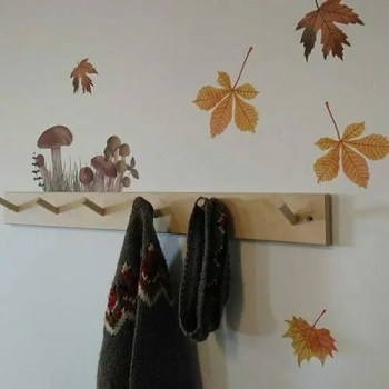 Autumn Leaves and Mushroom Troop - Ambient - Wall stories from ThatsMine