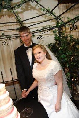 black and pink pearl wedding cake