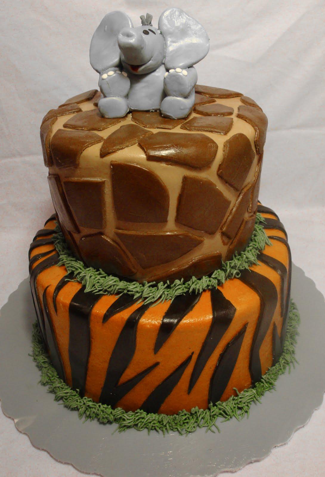 Zoo Birthday Cake Thats My Cake