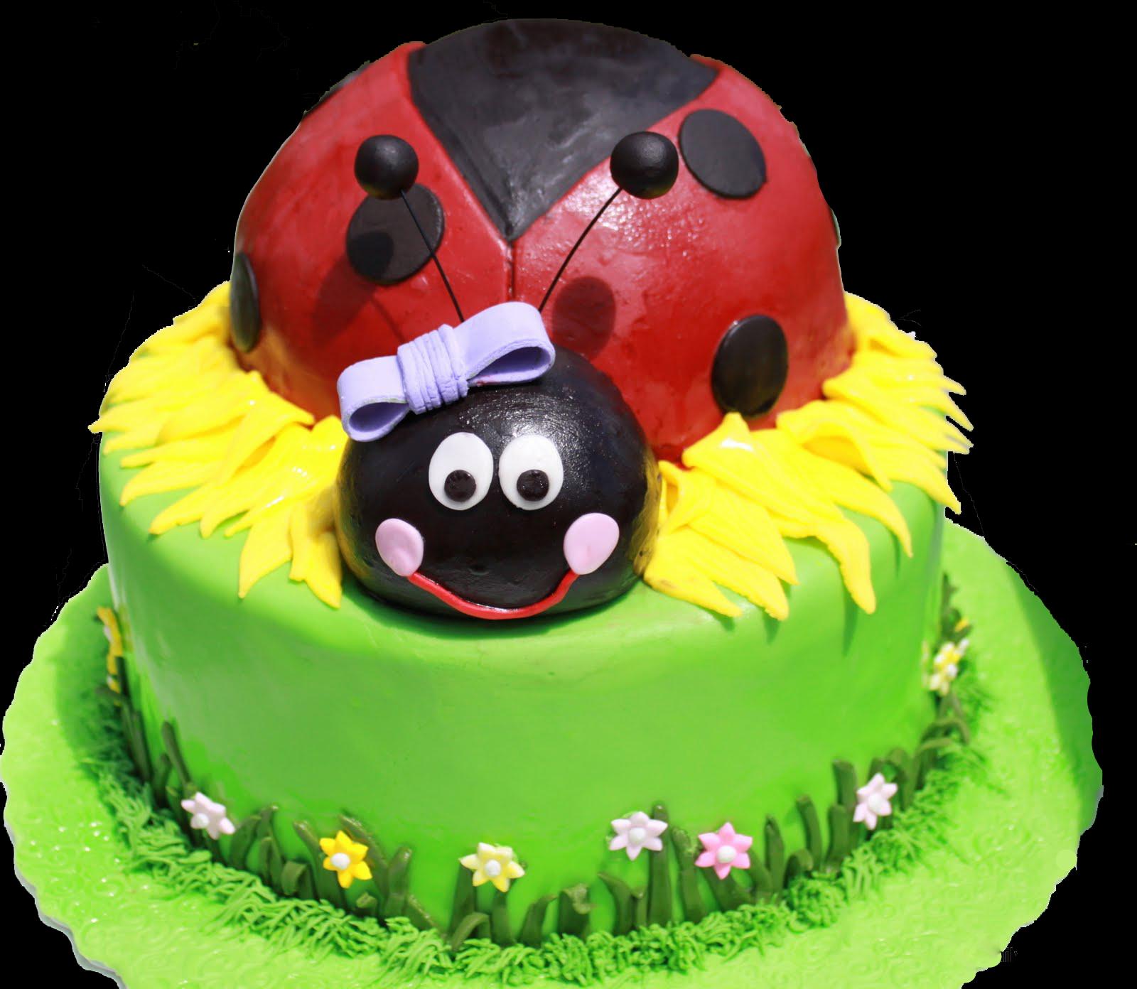 Remarkable Ladybug Birthday Cake Thats My Cake Personalised Birthday Cards Veneteletsinfo