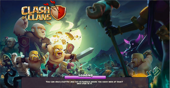 clash of clans tricks and treats