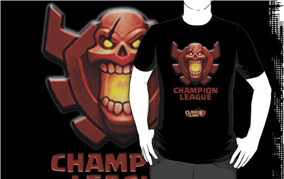 Champions League - Top 10 Clash of Clans T Shirt
