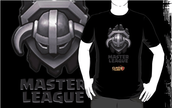 Master League - Top 10 Clash of Clans T Shirts