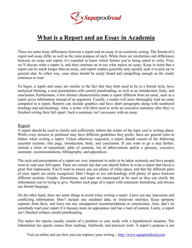 Sample Report Writing Example : APA Sample Paper