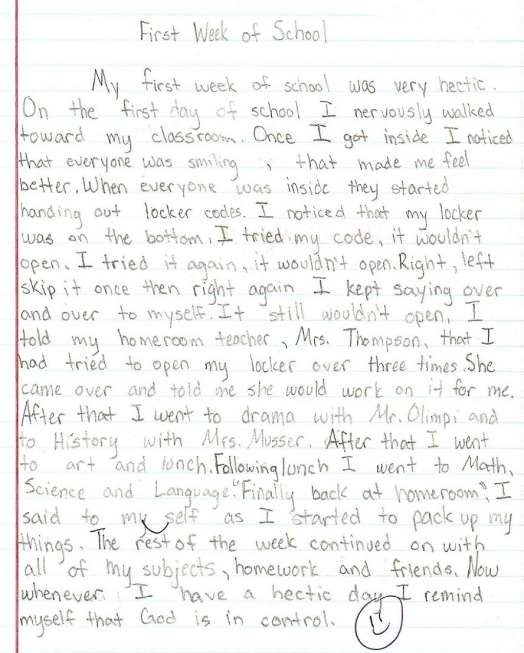 018 Essay Example 6th Grade Examples Persuasive Writings
