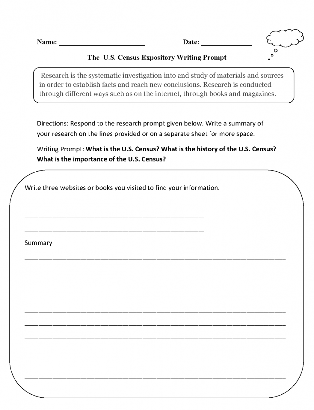 6th Grade English Writing Worksheets