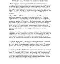 personal narrative essay prompts - Cprc [ 2484 x 1920 Pixel ]