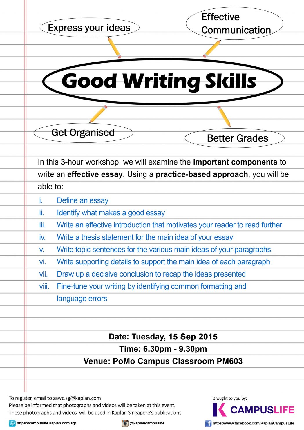005 Essay Writing Skills Tips On Good Narrative List Of