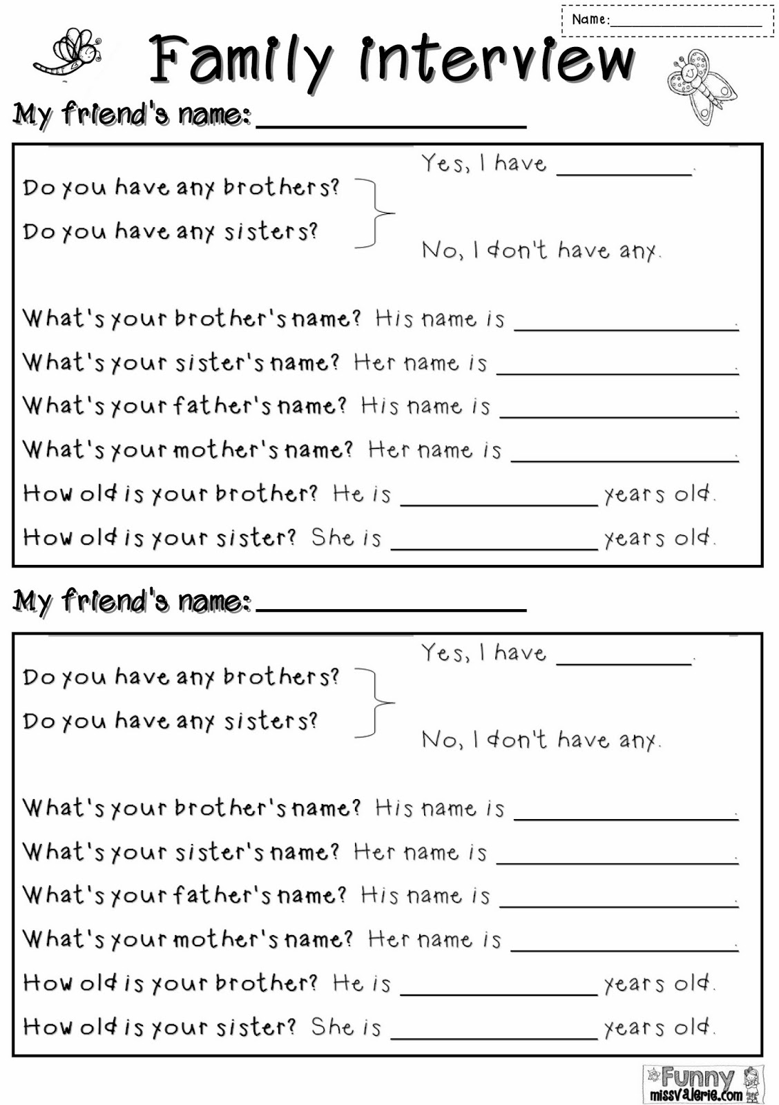 Writing An Introduction Worksheet