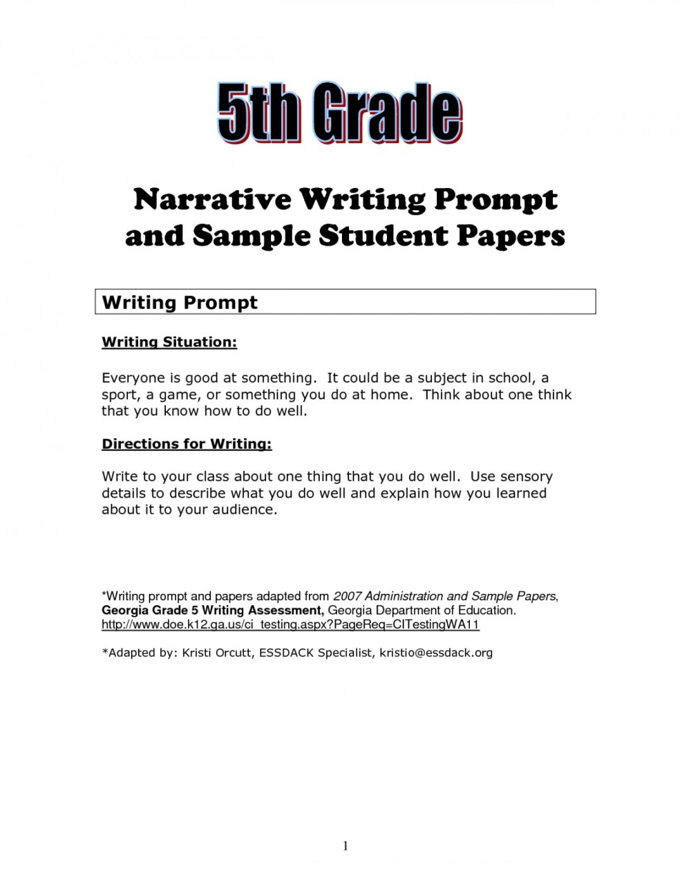 medium resolution of Essay Worksheets 5th Grade   Printable Worksheets and Activities for  Teachers