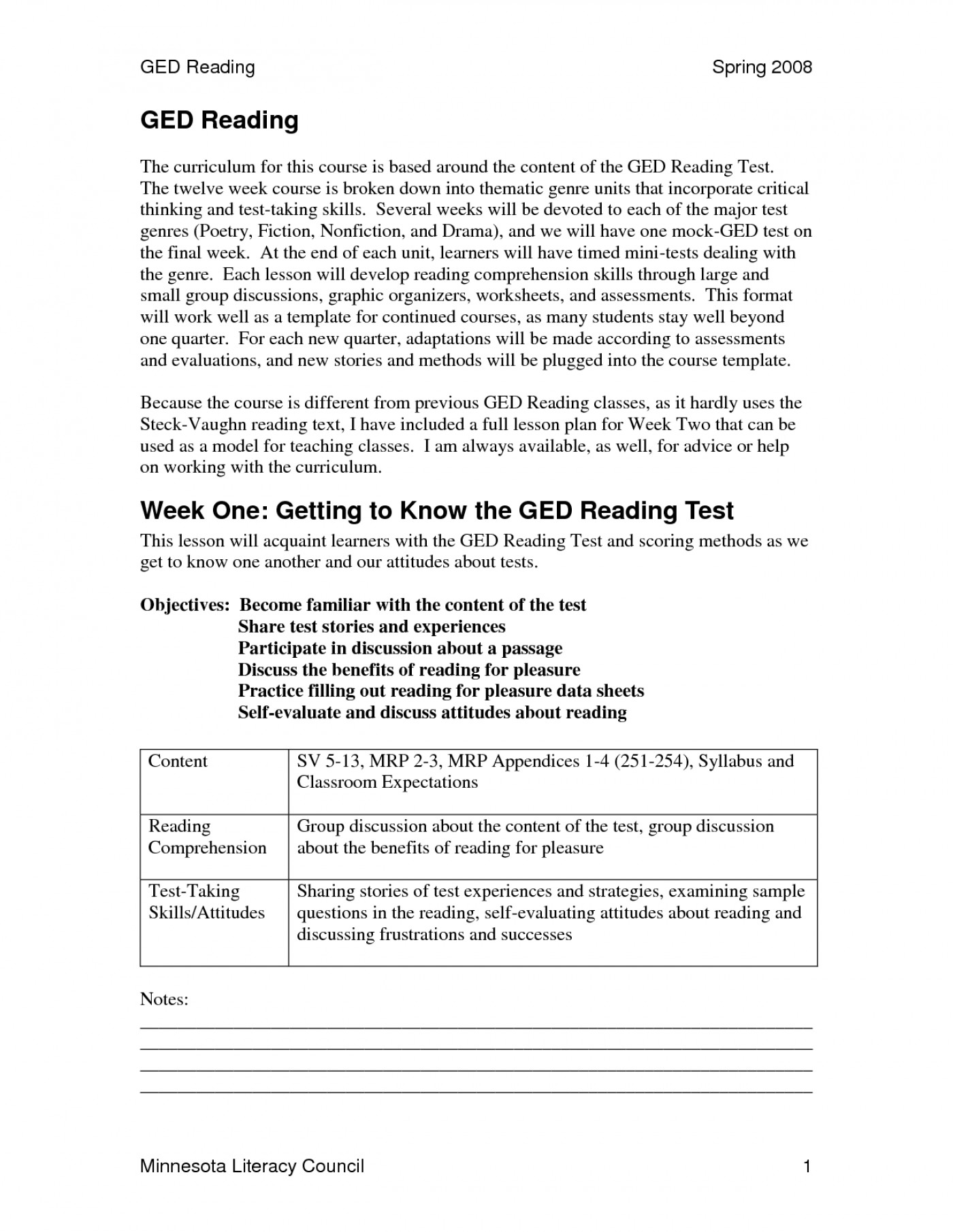 Printable Ged Practice Test With Answers