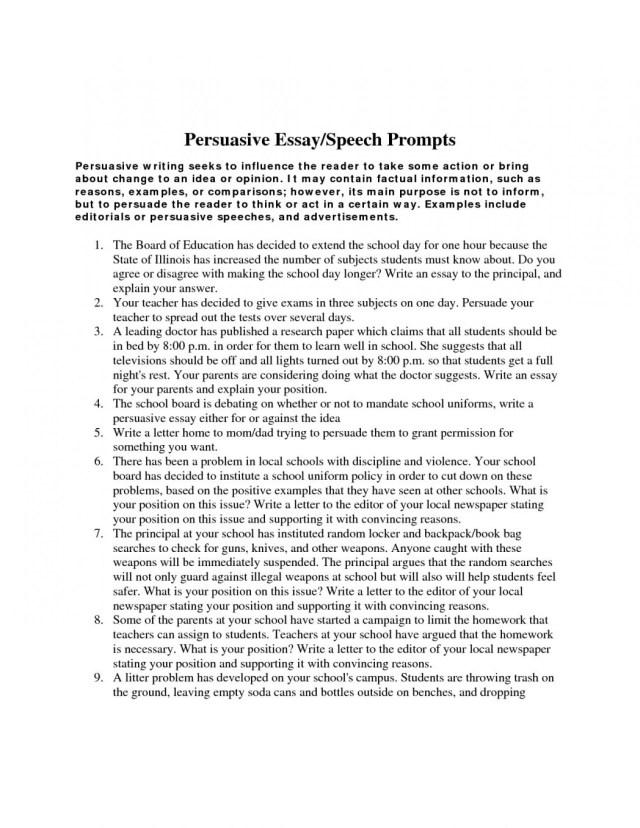 Essays Topics In English  Synthesis Essay Topic Ideas also Argument Essay Thesis Statement Argument Essay Sample High School  Applydocoumentco High School Graduation Essay