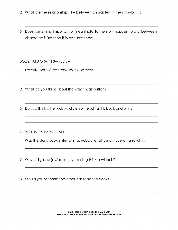 002 Essay Paragraph Structure Basic Format Worksheet Good