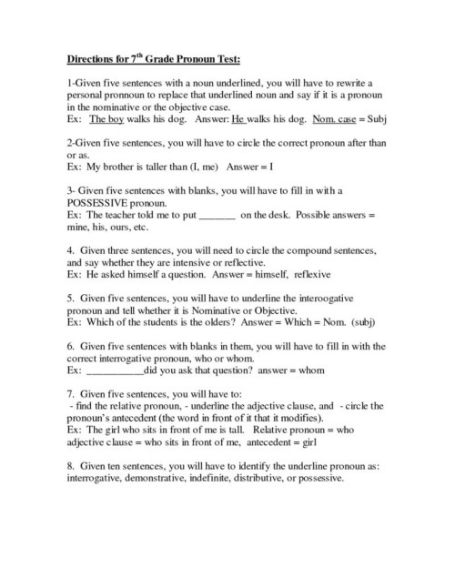small resolution of 7th Grade Essay Writing Worksheets   Printable Worksheets and Activities  for Teachers
