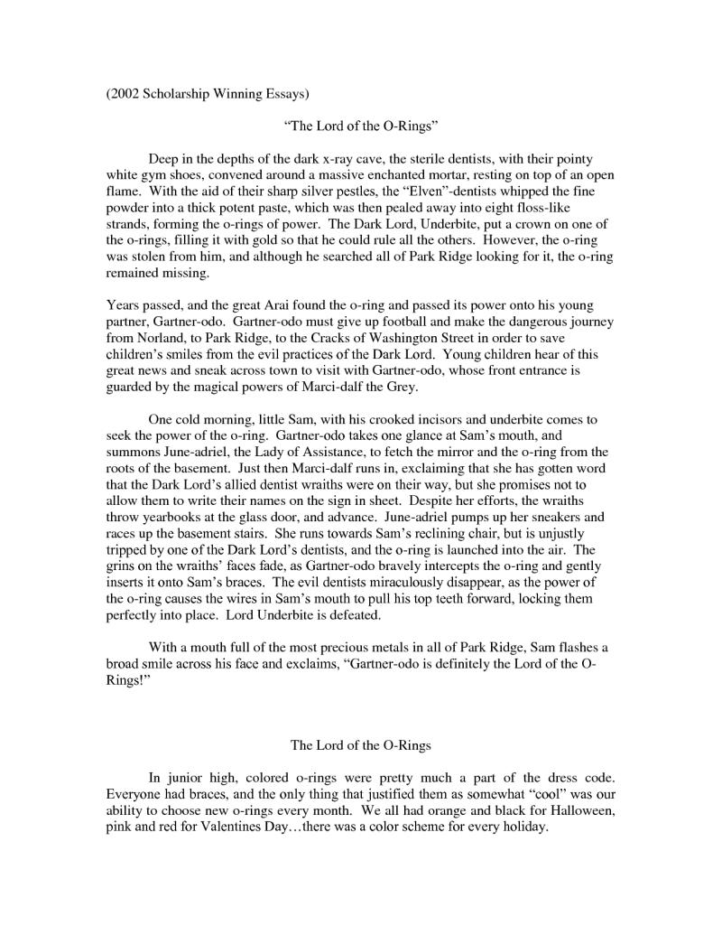 why i deserve this scholarship essay