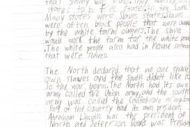 Astounding 6th Grade Essay Example ~ Thatsnotus