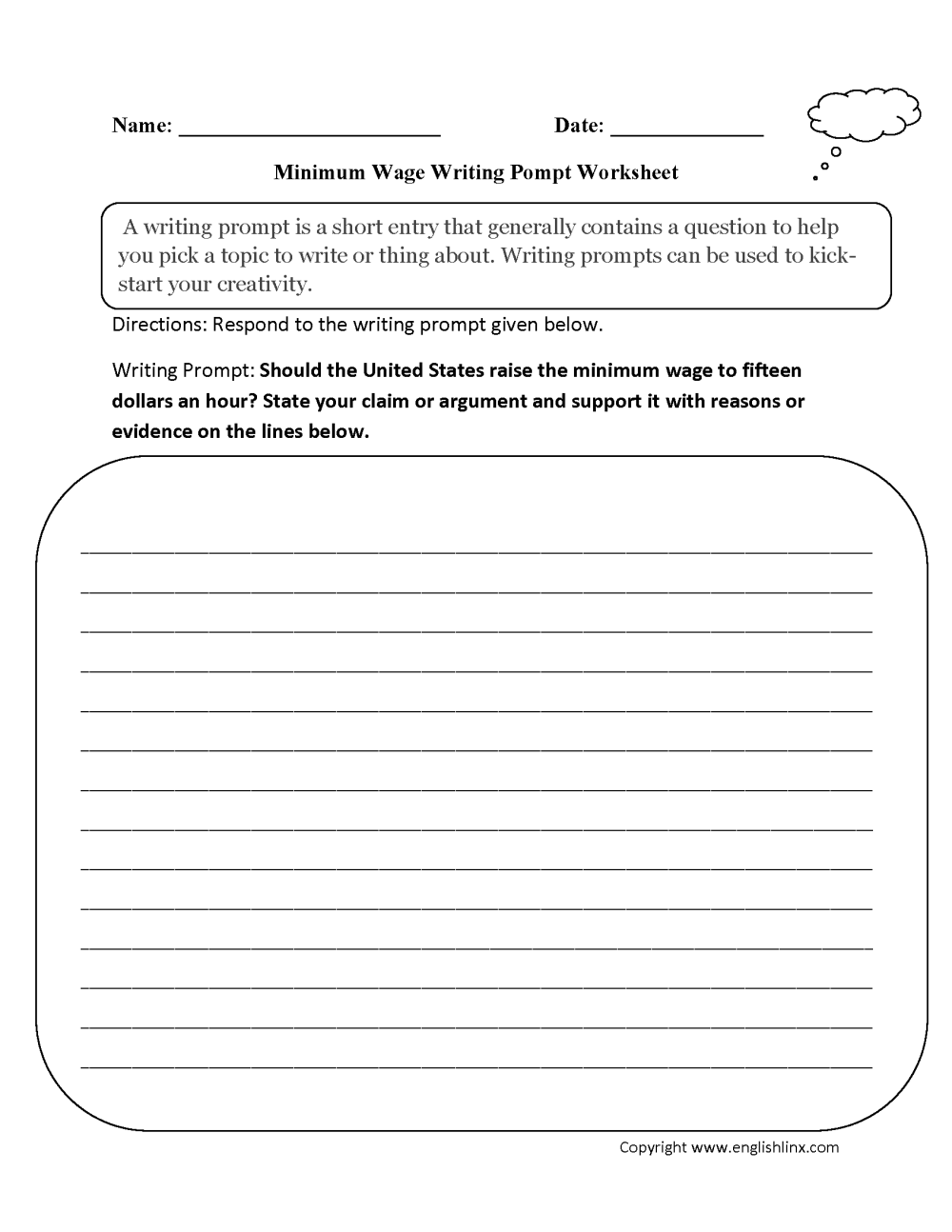 medium resolution of 6th Grade Essay Writing Worksheets   Printable Worksheets and Activities  for Teachers