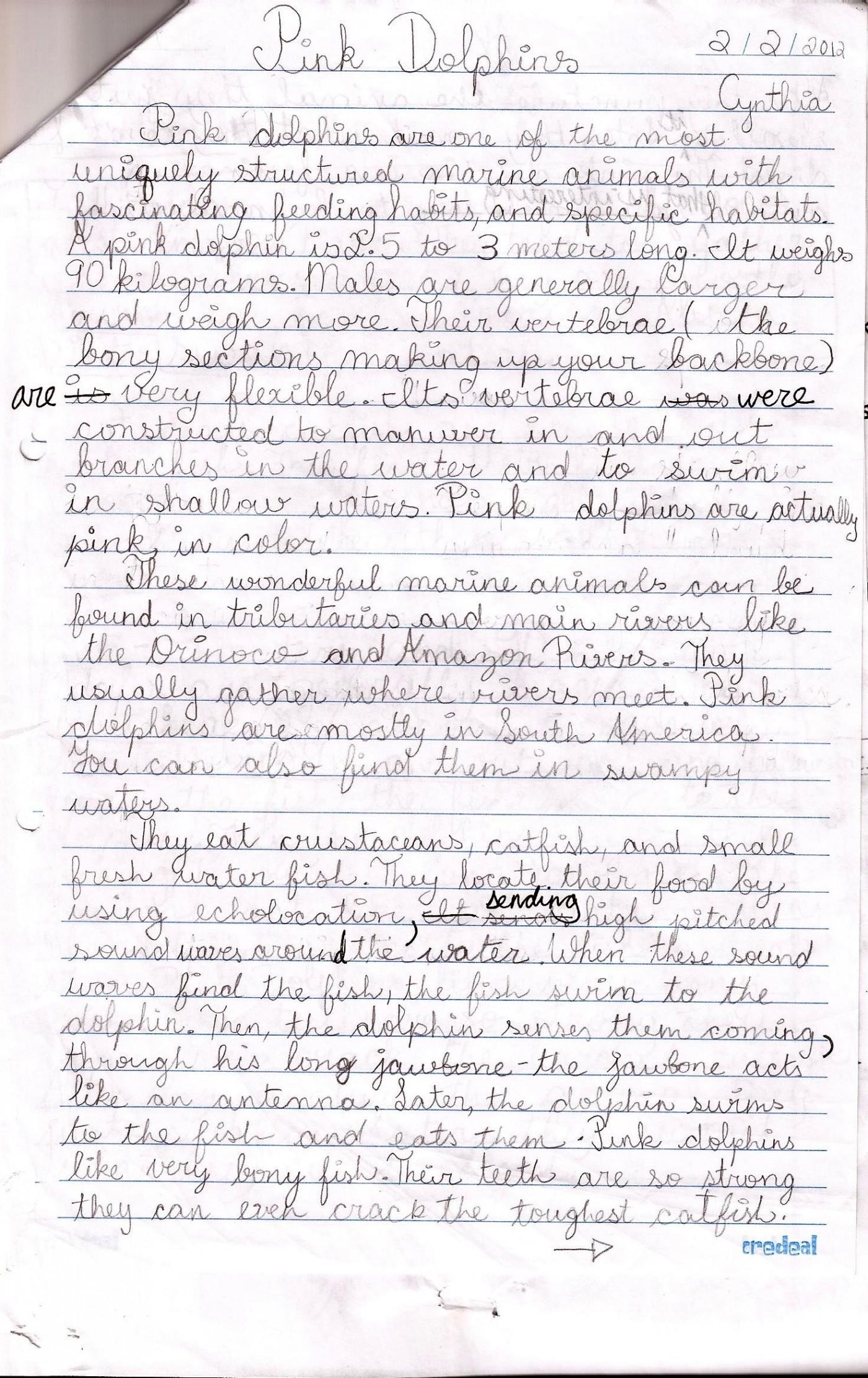 006 Essay Example Grader English Writing Examples Sample