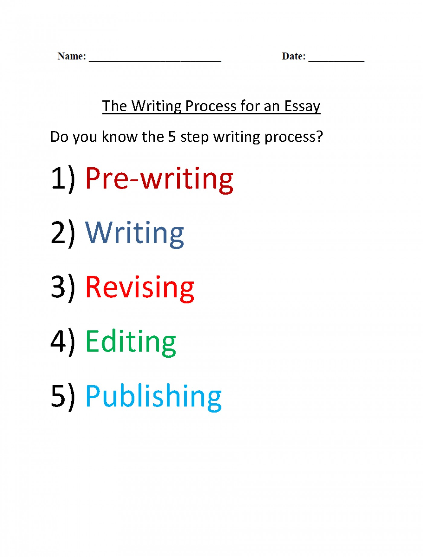 019 Essay Writing Practice Inspirational Paragraph