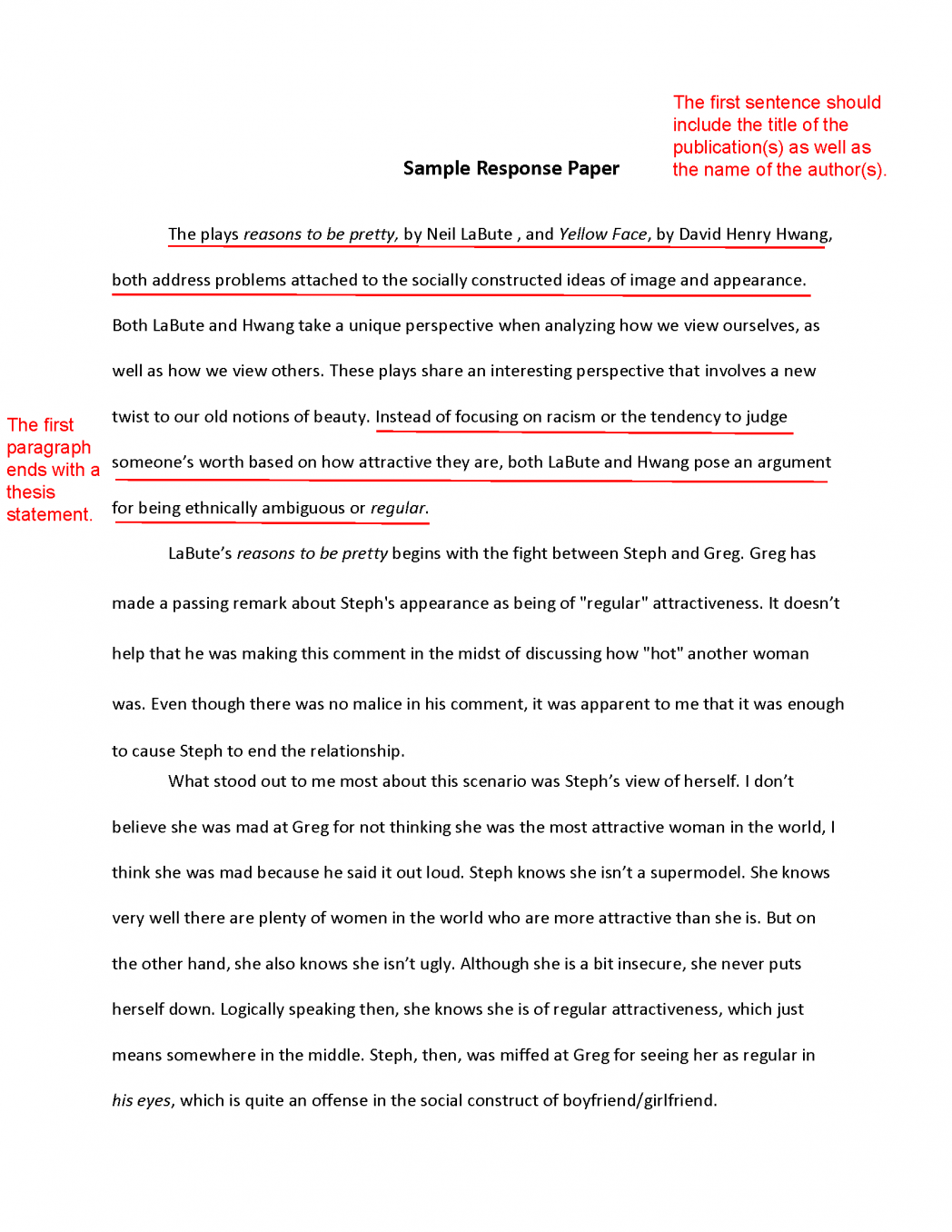 Archaicawful How To Write An Interview Essay Introduction
