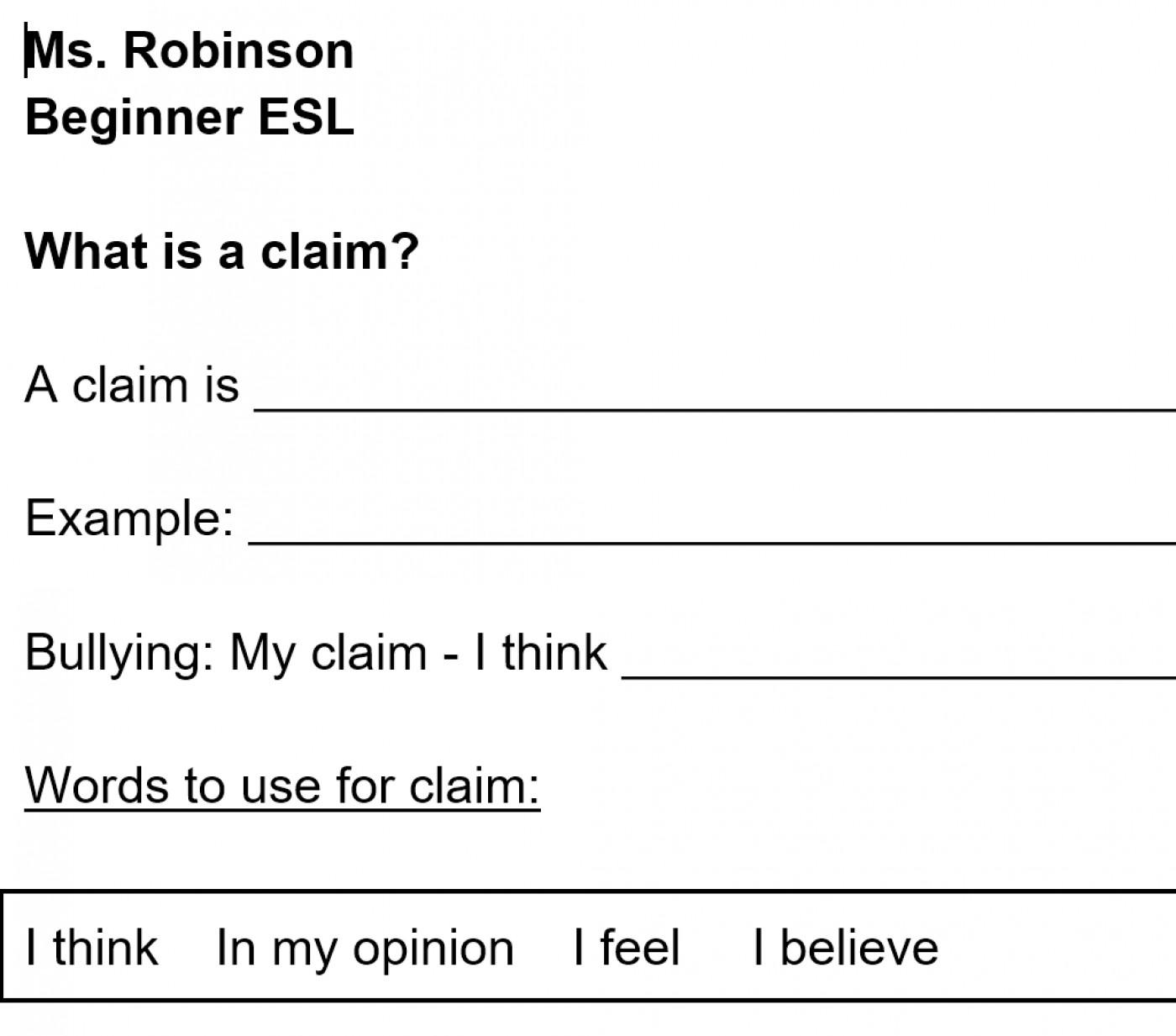 012 Essay Example Refutation Reflective Sample Paper