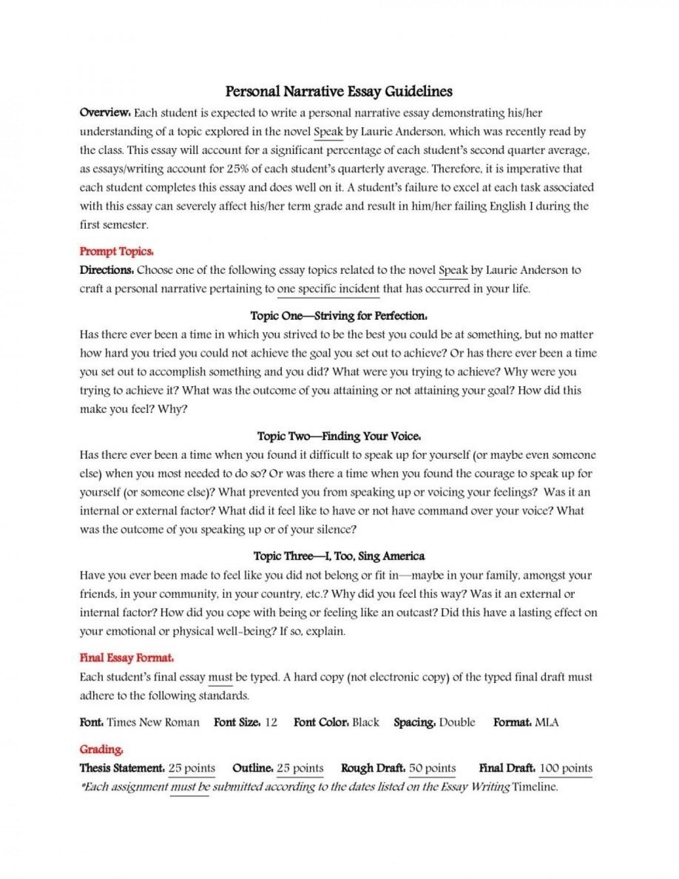 002 Essay Example Sample High School Admission Essays