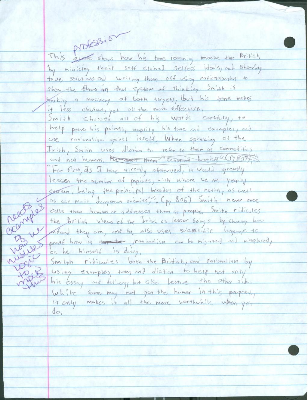 016 Satirical Essay Topics Example Essays Texting Bookman
